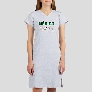 México futbol soccer Women's Nightshirt