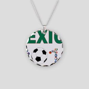 México futbol soccer Necklace