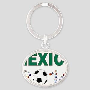 México futbol soccer Keychains