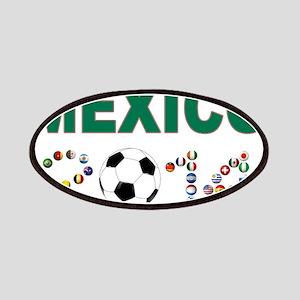 México futbol soccer Patches
