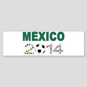 México futbol soccer Bumper Sticker