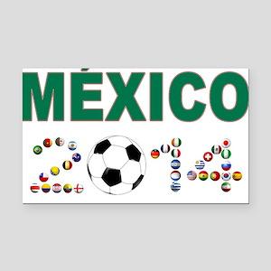 México futbol soccer Rectangle Car Magnet