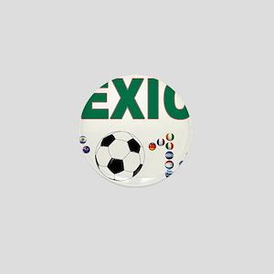 México futbol soccer Mini Button