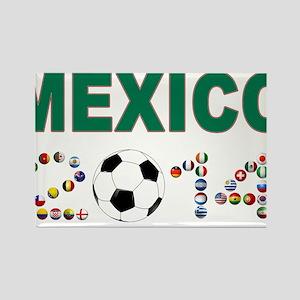 México futbol soccer Magnets