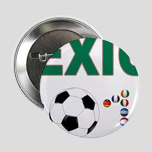 """México futbol soccer 2.25"""" Button"""
