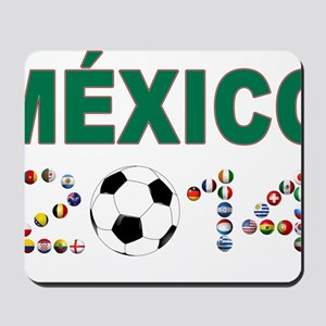 México futbol soccer Mousepad