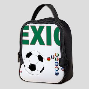 México futbol soccer Neoprene Lunch Bag