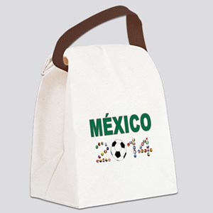 México futbol soccer Canvas Lunch Bag