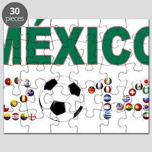 México futbol soccer Puzzle