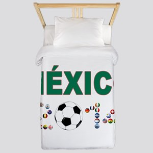 México futbol soccer Twin Duvet