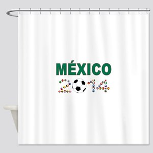 México futbol soccer Shower Curtain