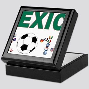 México futbol soccer Keepsake Box