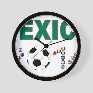 México futbol soccer Wall Clock