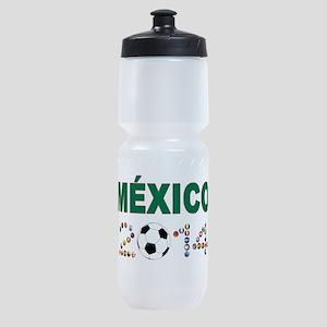 México futbol soccer Sports Bottle