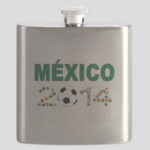 México futbol soccer Flask