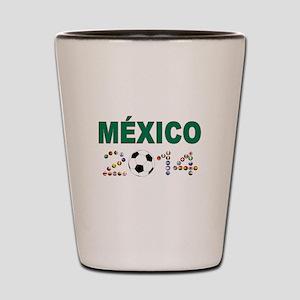 México futbol soccer Shot Glass