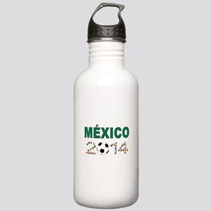 México futbol soccer Water Bottle