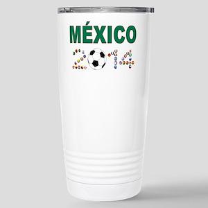 México futbol soccer Travel Mug