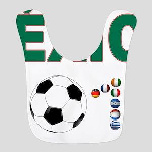 México futbol soccer Bib