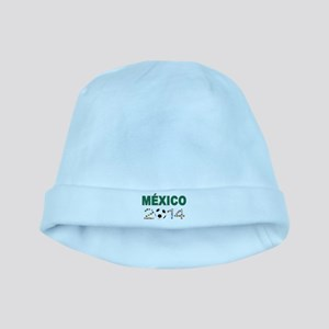México futbol soccer baby hat
