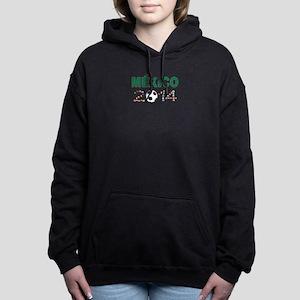 México futbol soccer Women's Hooded Sweatshirt