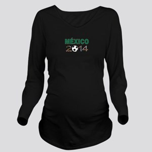 México futbol soccer Long Sleeve Maternity T-Shirt
