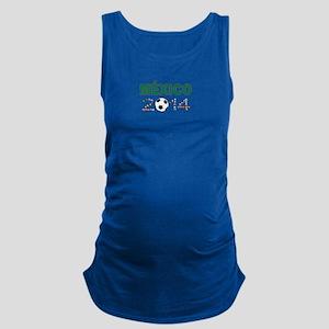 México futbol soccer Maternity Tank Top
