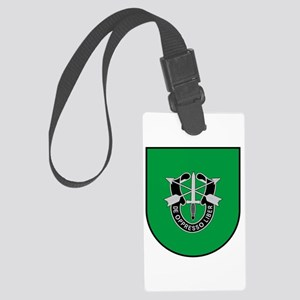 10th Special Forces Large Luggage Tag
