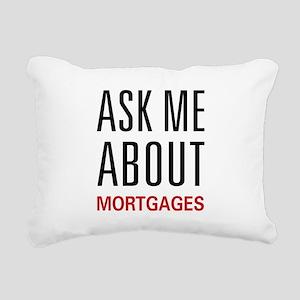 askmortgage Rectangular Canvas Pillow
