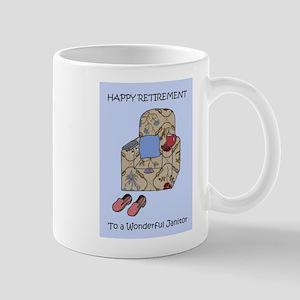 Happy Retirement to Janitor Mugs
