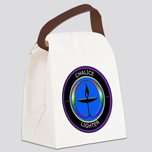 Chalice Lighter logo Canvas Lunch Bag