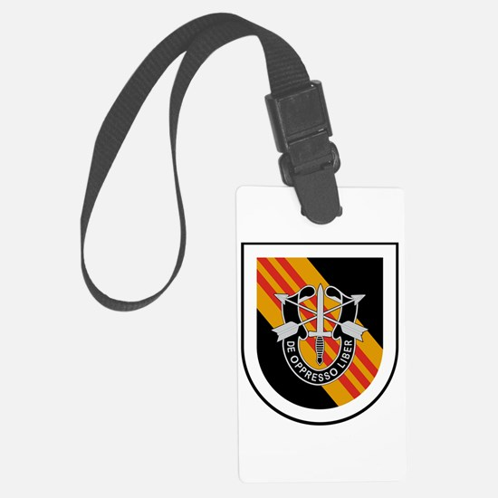 5th Special Forces Vietnam Luggage Tag