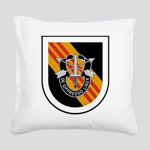 5th Special Forces Vietnam Square Canvas Pillow