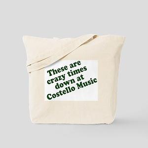 Costello Music Tote Bag