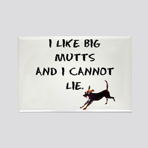 I like big mutts Rectangle Magnet