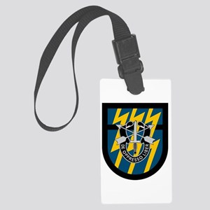 12th Special Forces Large Luggage Tag