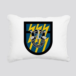 12th Special Forces Rectangular Canvas Pillow