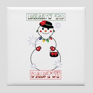 Ready To Party! Tile Coaster