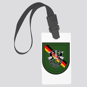 1st BN 10th Special Forces Large Luggage Tag