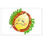 Feverish Lemons Circle Posters