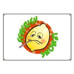 Feverish Lemons Circle Banner