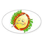 Feverish Lemons Circle Sticker