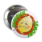 """Feverish Lemons Circle 2.25"""" Button"""