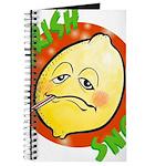 Feverish Lemons Circle Journal