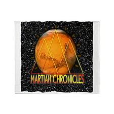 Martian Chronicles Throw Blanket
