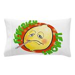 Feverish Lemons Circle Pillow Case