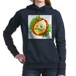 Feverish Lemons Circle Women's Hooded Sweatshirt