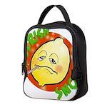 Feverish Lemons Circle Neoprene Lunch Bag