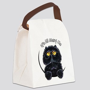 Black Persian IAAM Canvas Lunch Bag