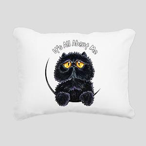 Black Persian IAAM Rectangular Canvas Pillow